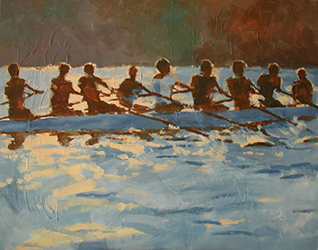 Light on the rowers - £300